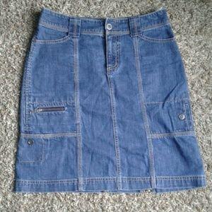 Eddie Bauer ladies jeans skirt